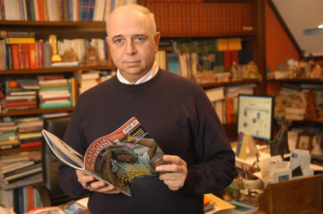 """Don Antonio Sciortino, direttore di """"Famiglia Cristiana"""""""