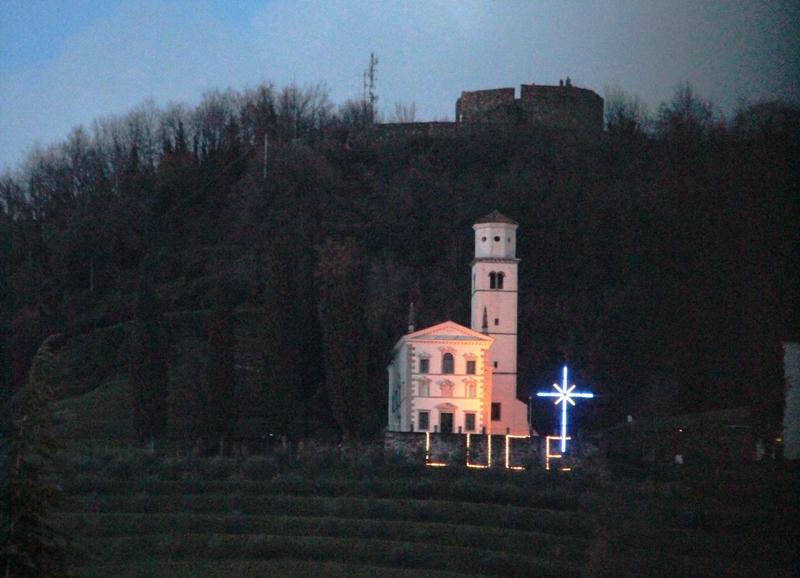 Da Mercoledì delle Ceneri la Croce illuminata sul Quarin