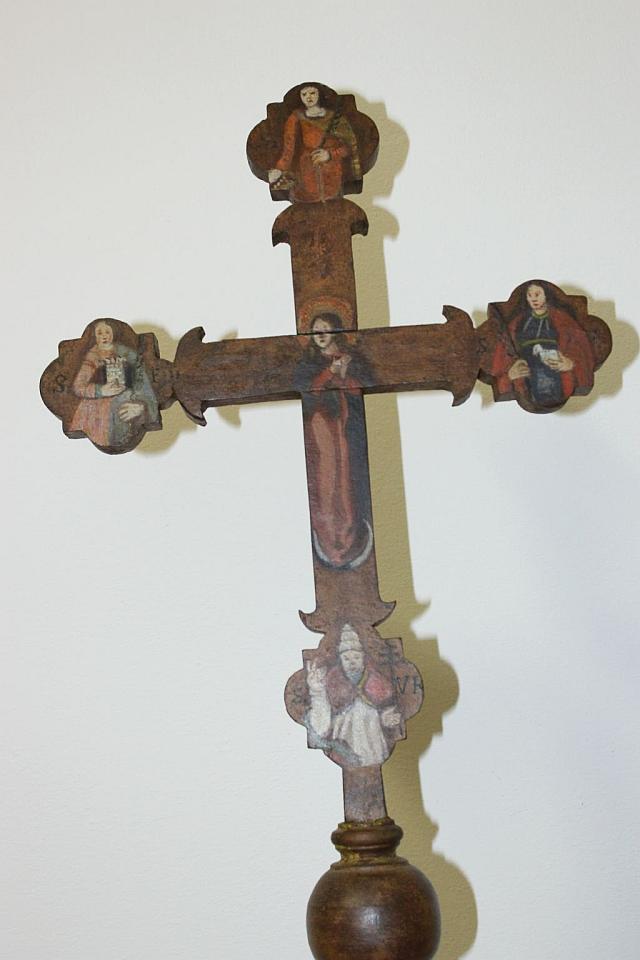 Croce lignea astile di Borgnano