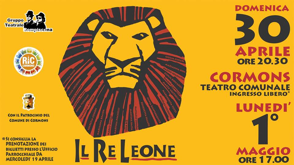 Il Re Leone, il Musical