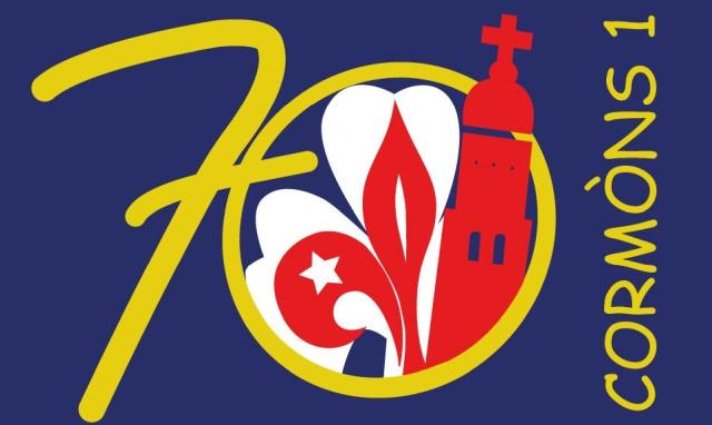 Logo 70° Cormòns 1°