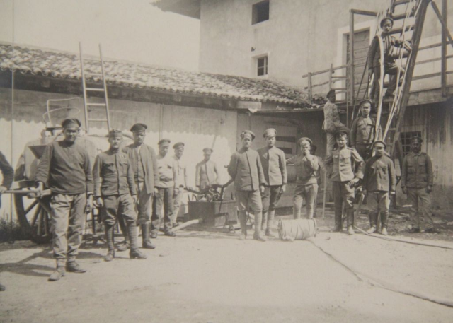 Campo di prigioni a Brazzano 1918
