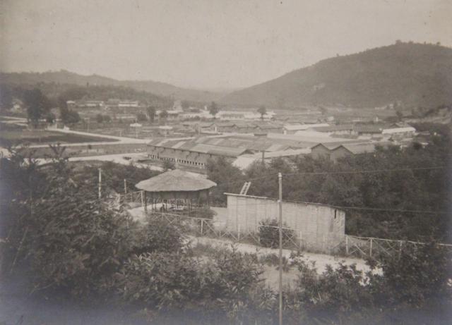 campo di prigionia a Brazzano 1918