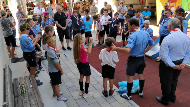 Cerchi finale campi scout 2019