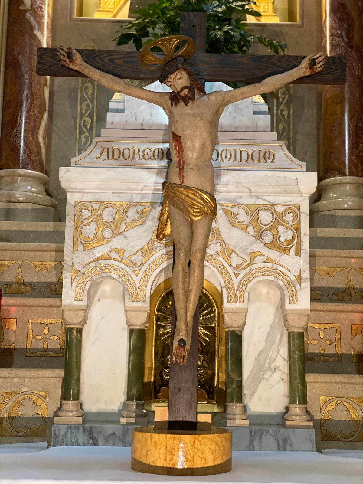 Crocefisso della chiesa della Subida