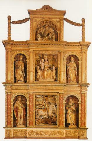Altare di san Giorgio a Brazzano