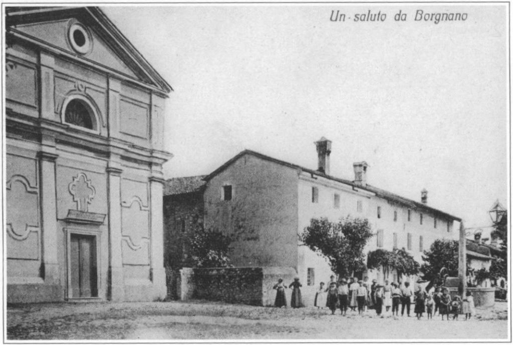 cartolina della chiesa di S. Fosca del 1906