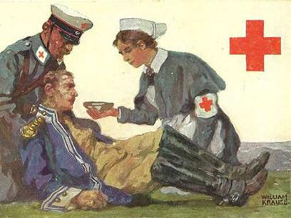 Cartolina della Croce Rossa