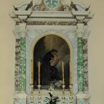 Affresco di sant'Antonio nella chiesa parrocchiale di santa Fosca