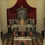 Altare della chiesa parrocchiale di santa Fosca