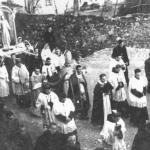 Prima processione con la statua di santa Fosca (1947)