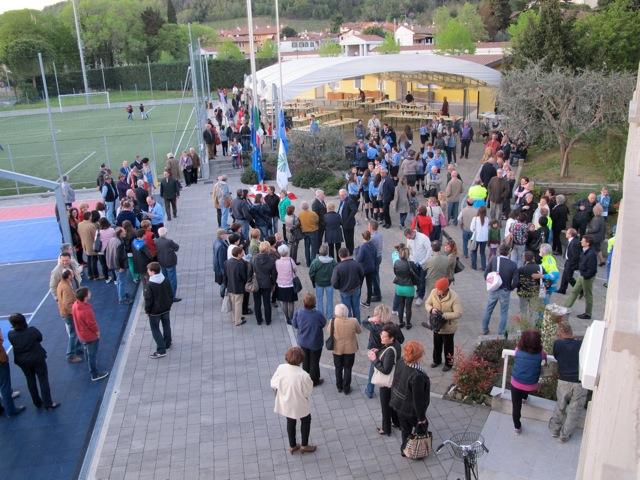 Inaugurazione dell'Alzabandiera